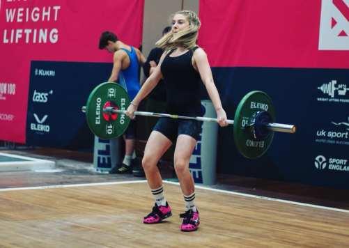 British Record Holder Mia Bishop