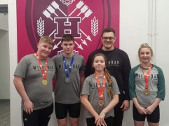Some of our South West development squad post comp